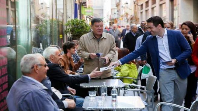 28A.- García Egea cree que Pedro Sánchez 'no va a debatir, sino a aprender un poco de Pablo Casado'