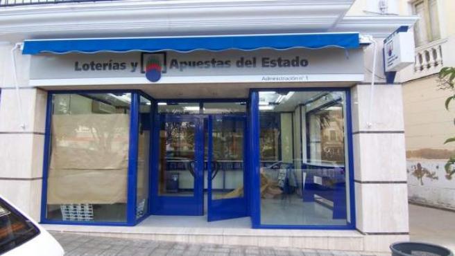 Jaén.- Un acertante de Alcaudete recibirá más de 33.000 euros en la Bonoloto