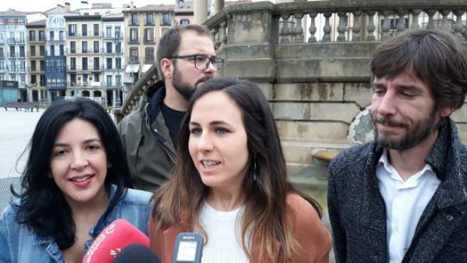 28A.- Belarra Pide Que Unidas Podemos 'Lidere Un Bloque Progresista En Defensa Del Autogobierno Y Los Derechos Sociales'