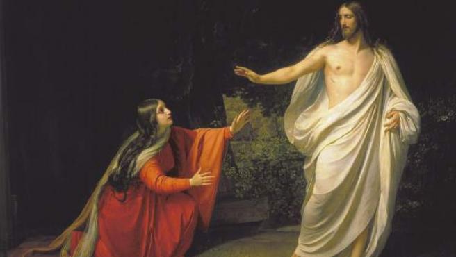 'Aparición de Jesús a María Magdalena', obra de Alexander Ivanov.