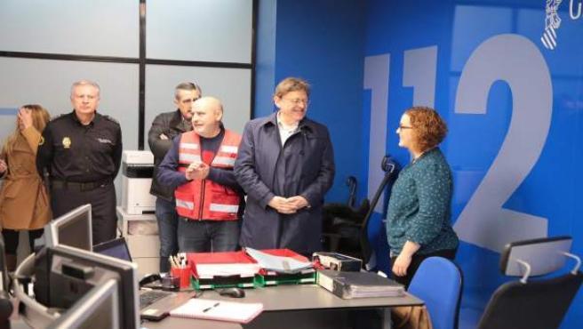 Puig destaca que el temporal no haya causado 'problemas graves': 'Estamos preparados frente a situaciones excepcionales'