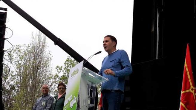 28A.- Otegi Llama A Conseguir 'Más De Un Millón De Votos' Para 'Hacer Frente A La Derecha'
