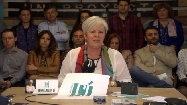 26M.- Blanca Rosa Gómez Morante repetirá como candidata a la Alcaldía de Torrelavega Sí