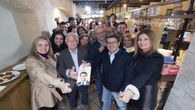 Almería.- 28A.- El PP pide en Roquetas 'que se vote pensando en el futuro de nuestros hijos y nietos'