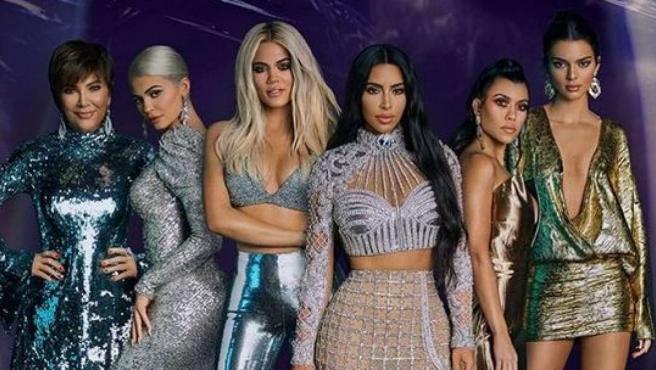 Imagen promocional de 'Las Kardashians', su reality show.