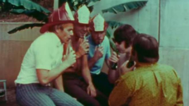 Imagen del vídeo oficial de 'Good vibrations' de Beach Boys.