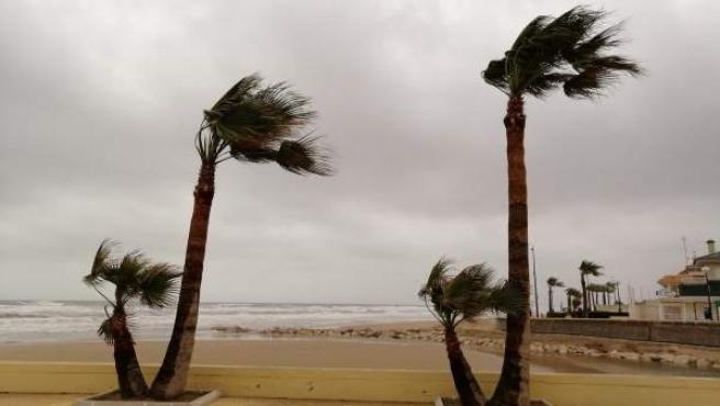 El temporal persiste con tormentas en la Marina Alta y la Safor