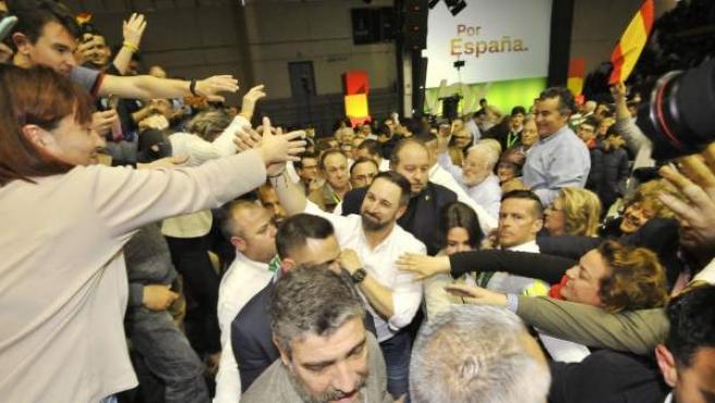 Imagen de un acto de Vox en Murcia.