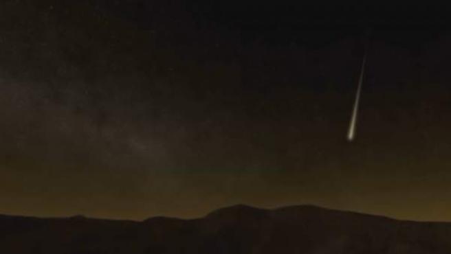 Esta noche la lluvia de meteoros de las Líridas alcanzará su máxima exposición en España.