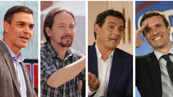 Candidatos en las elecciones generales 2019.