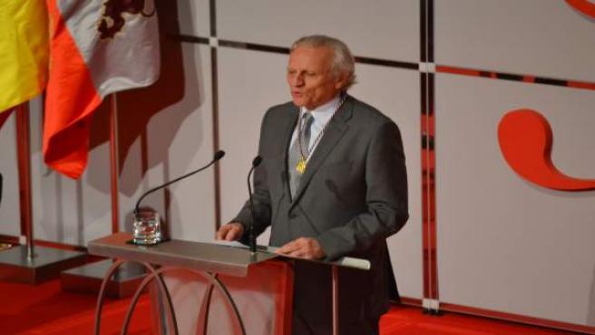 DíaCyL.- Grijelmo pide evitar la 'despoblación de las palabras' para que el 'castellano hermoso' perviva en la memoria