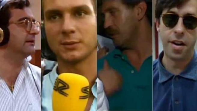 Roberto Gómez, Javier Cárdenas, Iñaki Cano y Santiago Segurola.