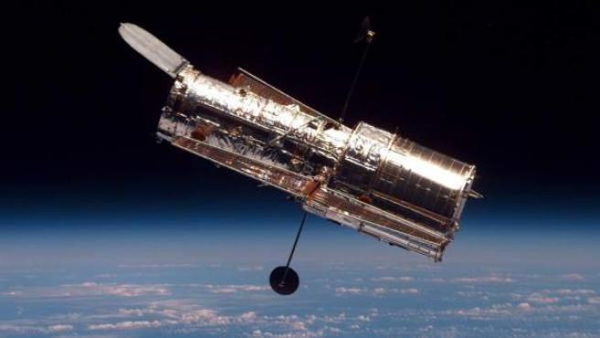 El telescopio espacial Hubble, en una foto tomada en 1997.