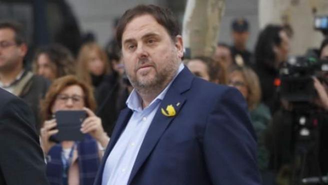 El exvicepresidente de la Generalitat de Cataluña Oriol Junqueras.