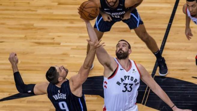 Marc Gasol, pívot de Toronto Raptors.