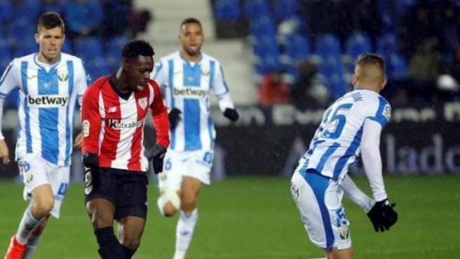 Leganés vs. Athletic.