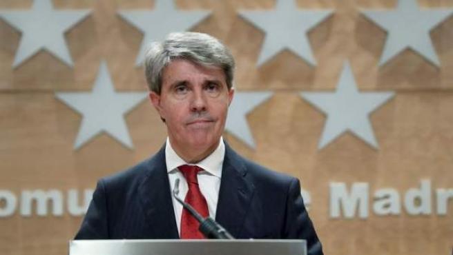 El expresidente de la Comunidad de Madrid, Ángel Garrido.