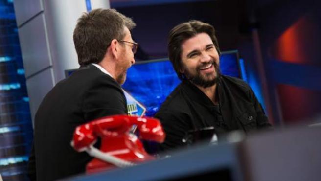 Juanes, en 'El hormiguero'.