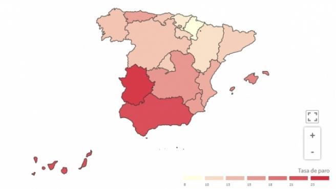 Así Están Los Datos De Paro Por Comunidades Fuerte Aumento En Baleares