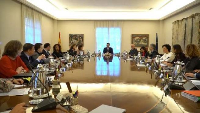 El Consejo de Ministros de Pedro Sánchez.