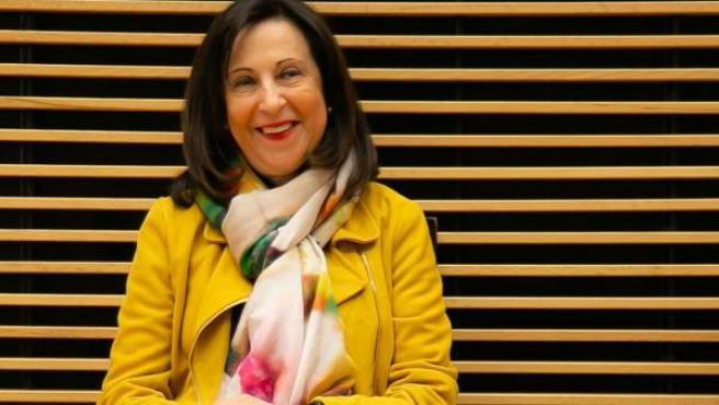 Margarita Robles lideró la candidatura del PSOE por Ávila.