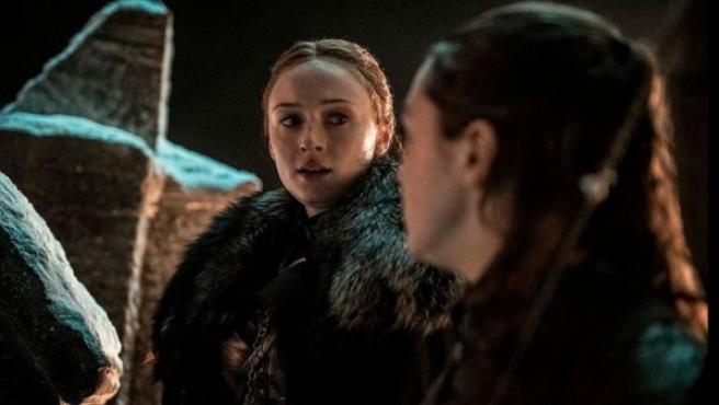 Escena del tercer capítulo de la octava temporada de 'Juego de Tronos'.
