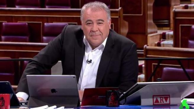 Antonio García Ferreras en La Sexta.