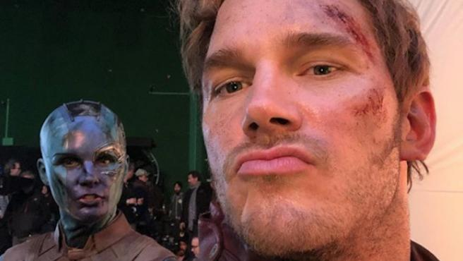 'Vengadores: Endgame': Mira el vídeo ilegal de Chris Pratt desde el rodaje