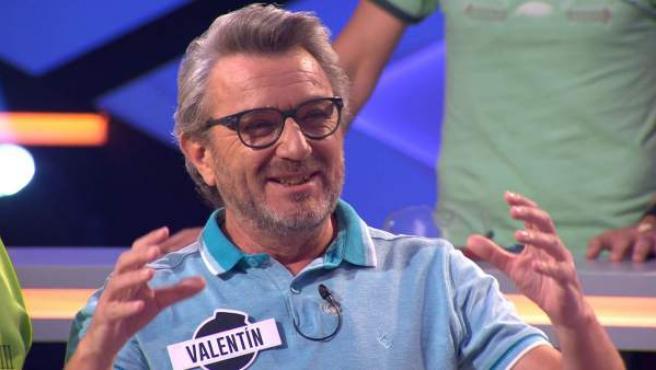 Valentín, miembro de Los Lobos, en el programa '¡Boom!'.