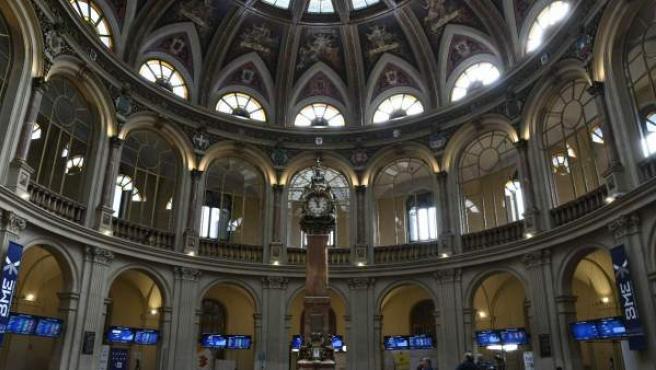 La Bolsa de Madrid, en una foto de archivo.