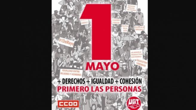 Cartel del 1 de mayo.