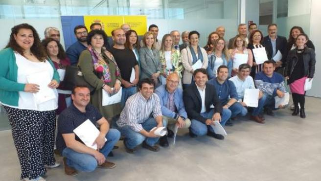 Huelva.- La subdelegada del Gobierno entrega a 80 alcaldes la documentación de PFEA para contratar a 10.000 parados