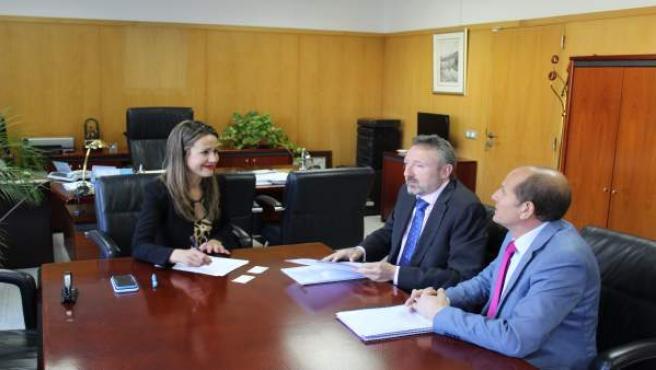 Huelva.- La ONCE pide a la delegada del Gobierno de la Junta que refuerce la lucha contra el juego ilegal