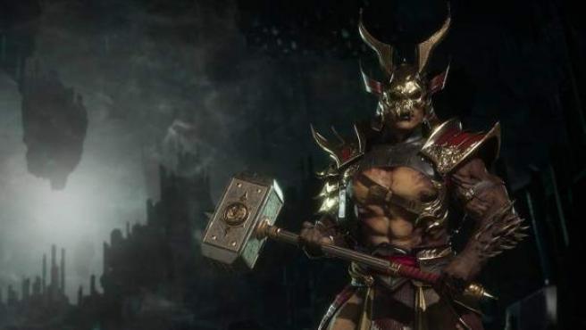 Shao Kahn en 'Mortal Kombat 11'.