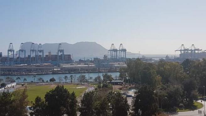 Cádiz.- Puertos.- Puerto de Algeciras cierra el primer trimestre con una actividad que roza los 27 millones de toneladas