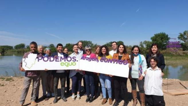 26M.- Podemos-Equo Defenderá Los Derechos De Los Aragoneses Y De Una Tierra Con Futuro En La Campaña 'Aragón, Contigo'