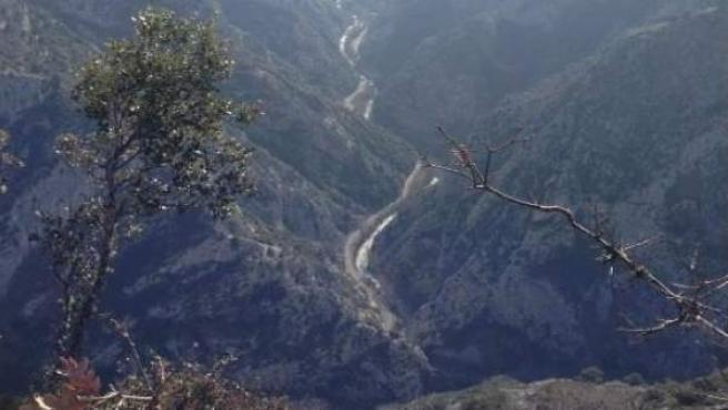 AMP.- Fomento publica las expropiaciones del desfiladero de la Hermida para el tramo Cillorigo-Panes de la N-621