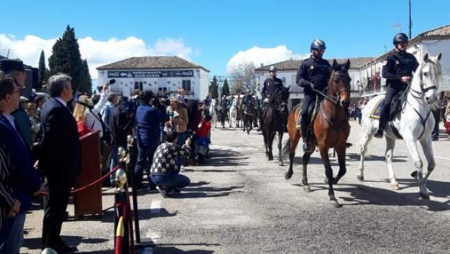 Jaén.- La 'extraordinaria coordinación' deja una Romería de la Virgen de la Cabeza sin graves incidencias