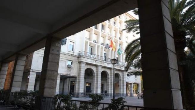 Sevilla.- El TSJA señala que los edificios de juzgados del Prado son 'inadecuados' y 'continúan deteriorándose'