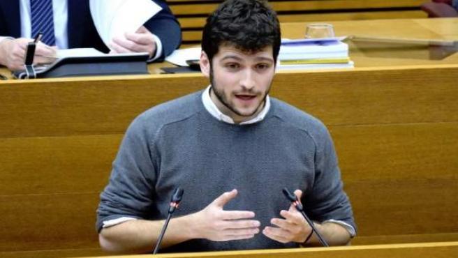 El secretario general de Podem, Antonio Estañ,