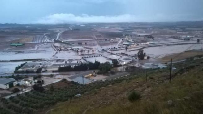 Inundaciones tras el temporal