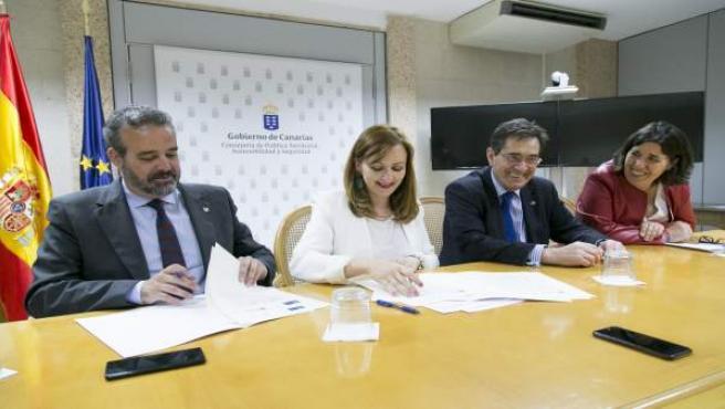Las dos universidades públicas de Canarias estudiarán los efectos del cambio climático en las islas