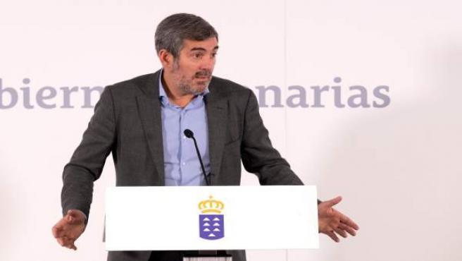 """El presidente de Canarias se muestra """"muy preocupado"""" por la situación de Venezuela"""