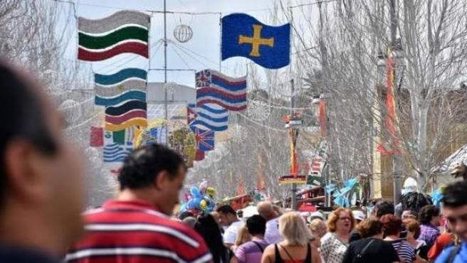 Málaga.- Fuengirola muestra su faceta más internacional desde este martes en la Feria de los Pueblos