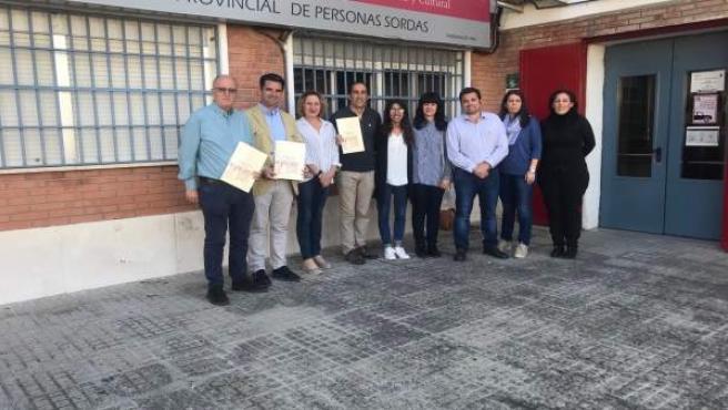 Córdoba.-26M.- Pedro García (IU) seguirá impulsando medidas para hacer de Córdoba 'una ciudad más inclusiva y accesible'