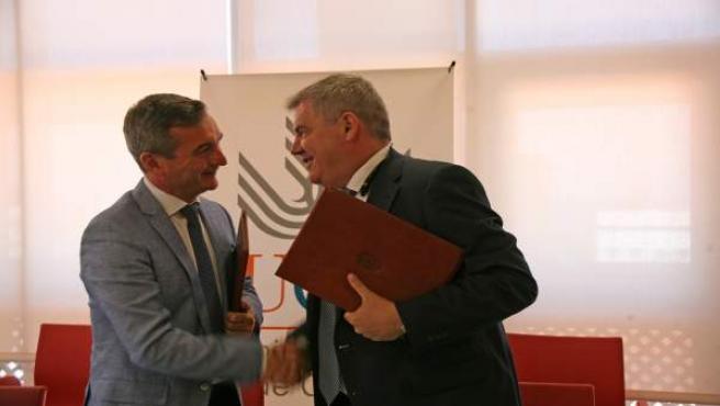 Cádiz.- Investigadores de la UCA cooperarán con el Cádiz Club de Fútbol en innovación y transferencia