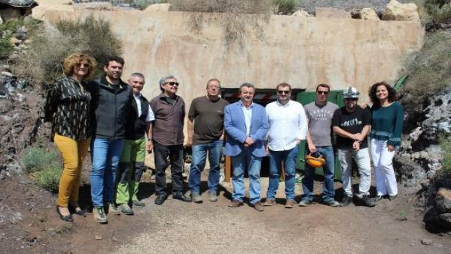 Almería.-Turismo.-La mina de la geoda gigante de Pulpí será visitable a partir de julio tras la adaptación de la galería