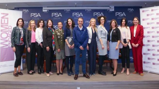 La red de mujeres Women Engaged for PSA llega a Zaragoza