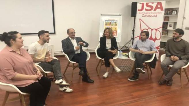 26M.- Lambán Promete Crear Un Bono Cultural Para Jóvenes Con 150 Euros, Pudiendo Aumentar Los Ayuntamientos Hasta 300