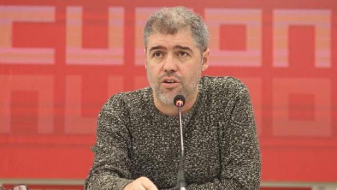 Unai Sordo, el secretario general de CCOO.